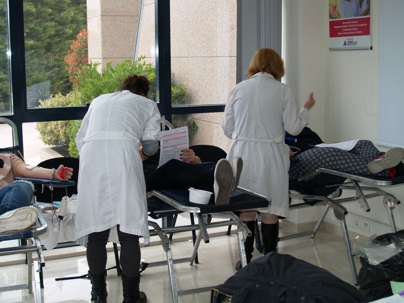 Εθελοντική Αιμοδοσία των Εργαζομένων της DEMO για 11η χρονιά