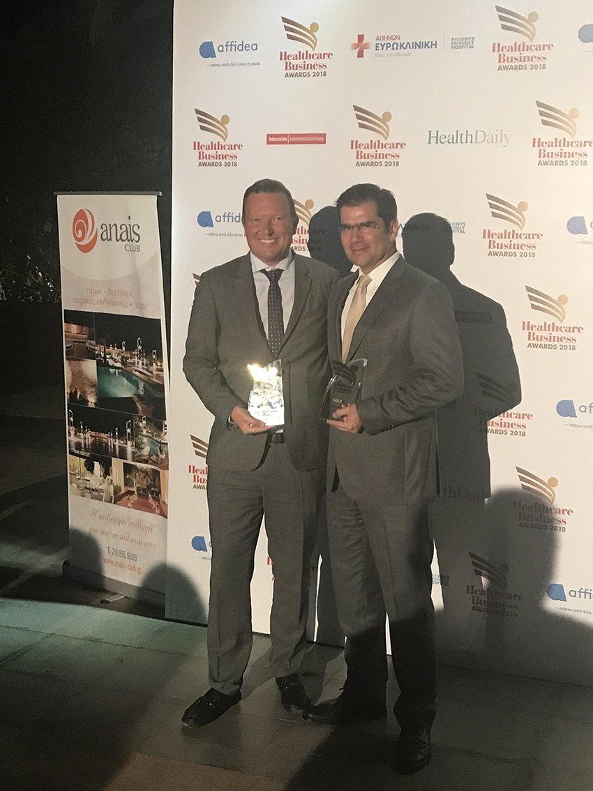 Δύο νέα βραβεία για τον Όμιλο Φαρμακευτικών Επιχειρήσεων Τσέτη