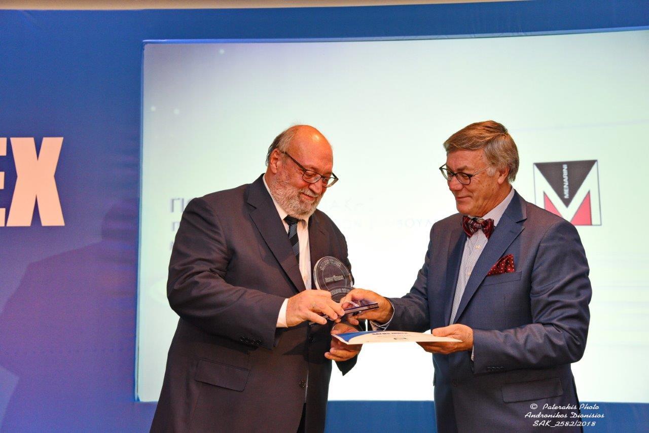 Ως μια από τις υγιέστερα αναπτυσσόμενες εταιρείες στην Ελλάδα τιμήθηκε η Menarini Hellas