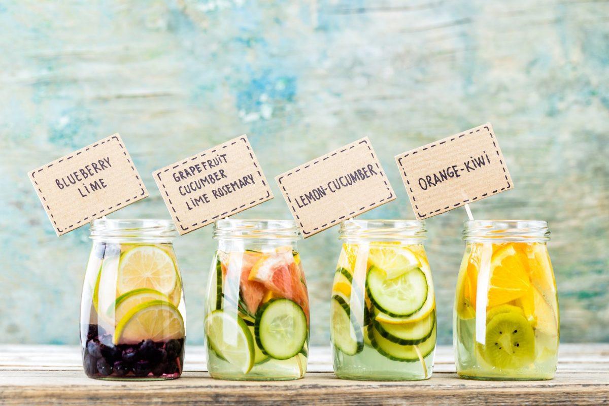 Δώστε στο νερό σας φυσική γεύση φρούτων!