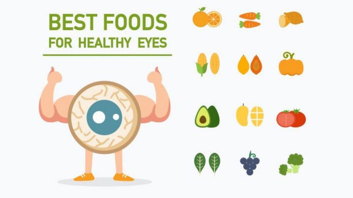 Πέντε top τροφές για την υγεία των ματιών