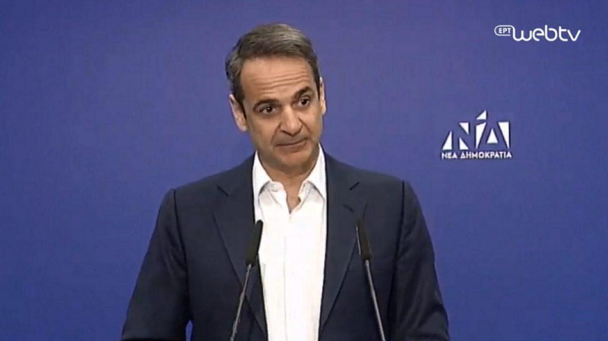 Τη Φώφη Γεννηματά επισκέφθηκε ο πρωθυπουργός Κ. Μητσοτάκης