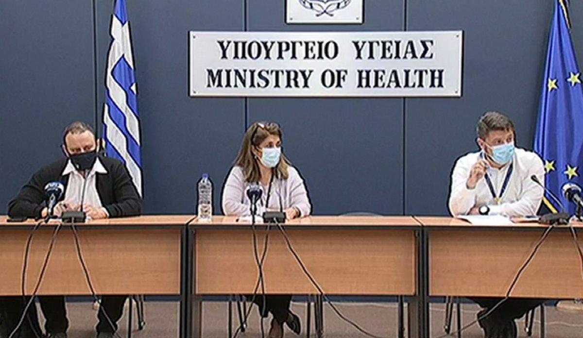 """Παπαευαγγέλου – Μαγιορκίνης: """"Μετά από 15 ημέρες αναμένουμε μείωση των κρουσμάτων"""" – Πότε θα έρθει το εμβόλιο της Pfizer στην Ελλάδα"""