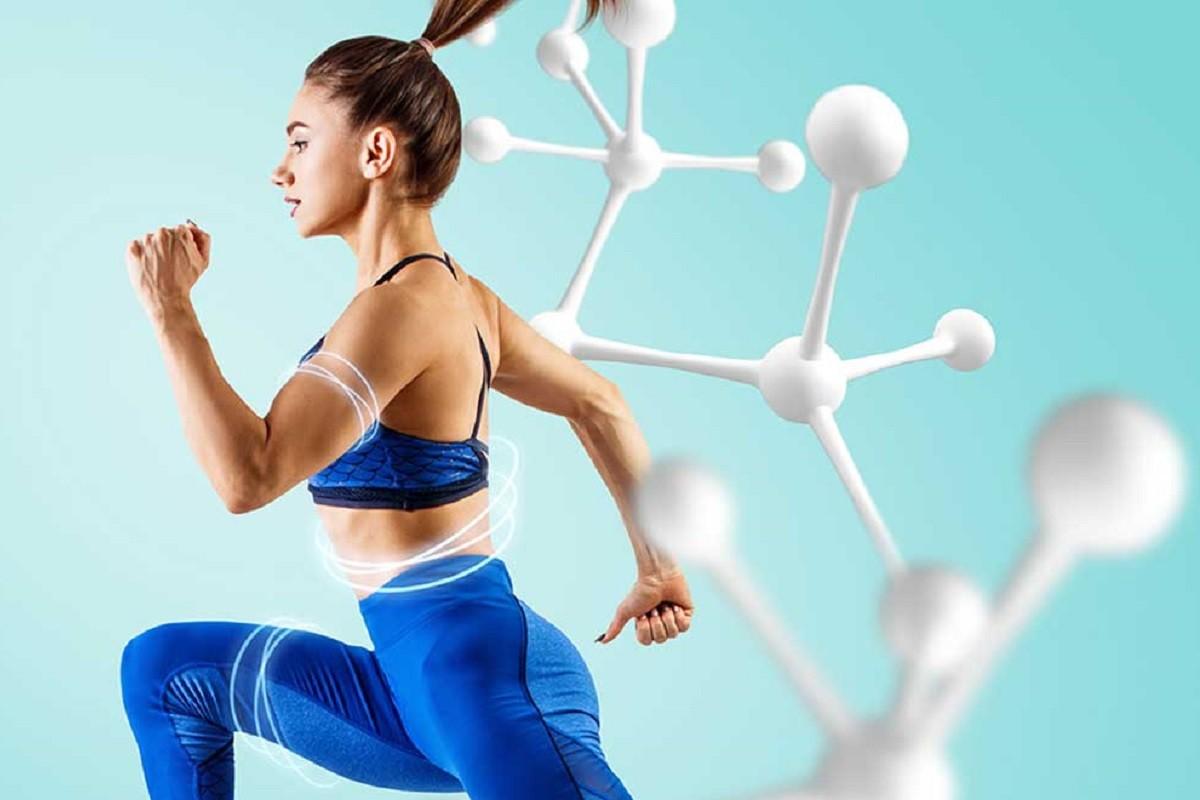 Γυναίκα τρέχει για να επιταχυνθεί ο μεταβολισμός της