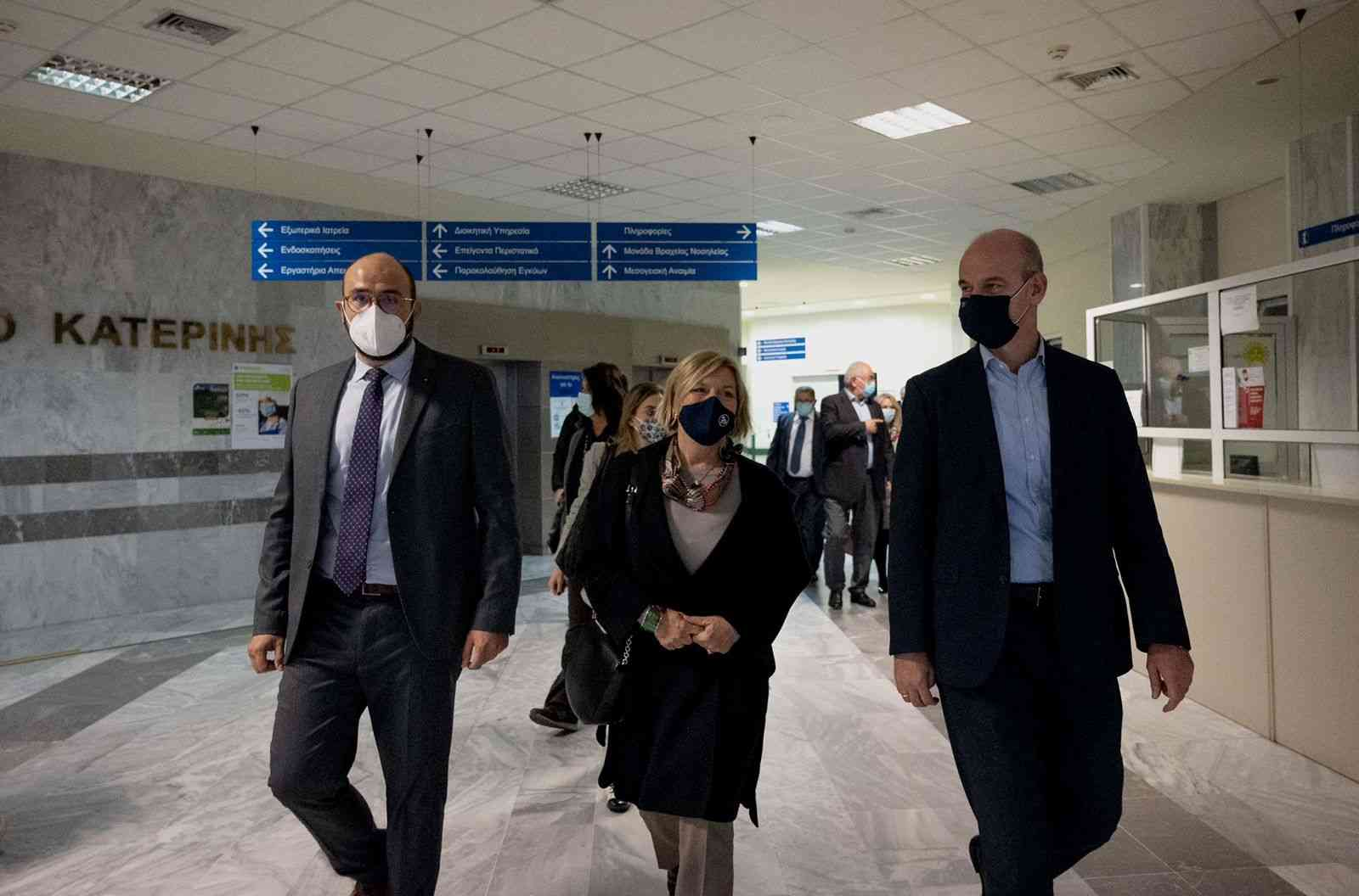 Γκάγκα: Περιοδεία στα νοσοκομεία της βόρειας Ελλάδας πραγματοποιεί η αναπλ. υπουργός Υγείας